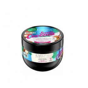Eveline Cosmetics Food for Hair Sweet Coconut Máscara Hidratante para Cabelos Secos