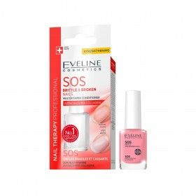 Eveline Cosmetics Nail Therapy Verniz Multivitamínico SOS para Unhas Frágeis e Partidas
