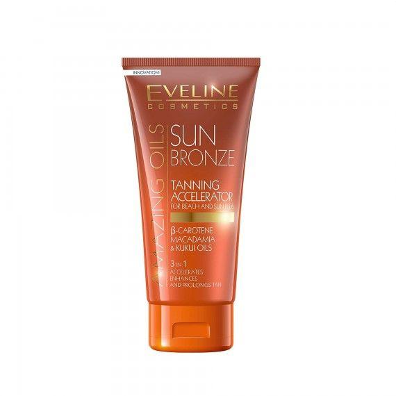Eveline Cosmetics Amazing Oils Sun Bronze Acelerador de Bronzeado 3 em 1