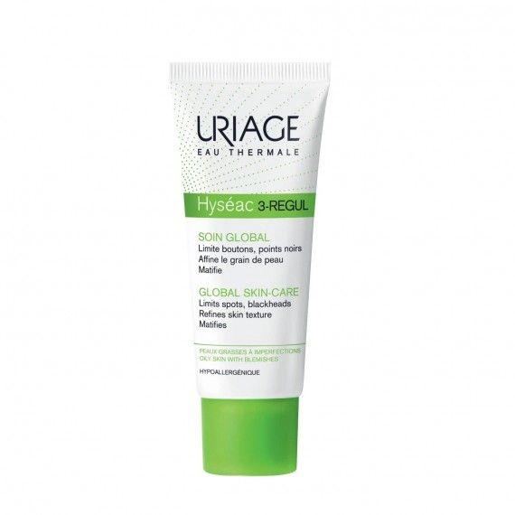 Uriage Eau Thermale Hyséac 3-Regul Creme Facial Matificante para Peles Oleosas com Imperfeições