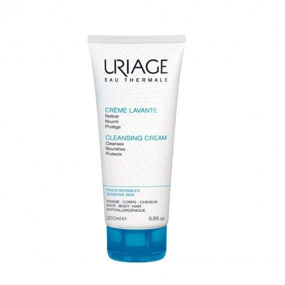 Uriage Eau Thermale Creme de Limpeza de Rosto e Corpo para Peles Sensíveis