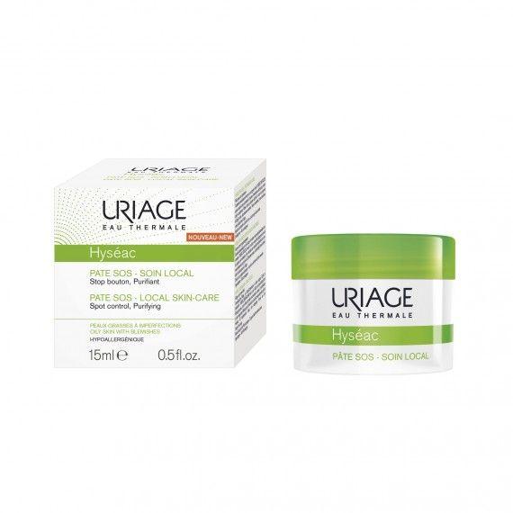 Uriage Eau Thermale Hyséac Pate SOS Creme Facial Purificante para Peles Oleosas com Imperfeições