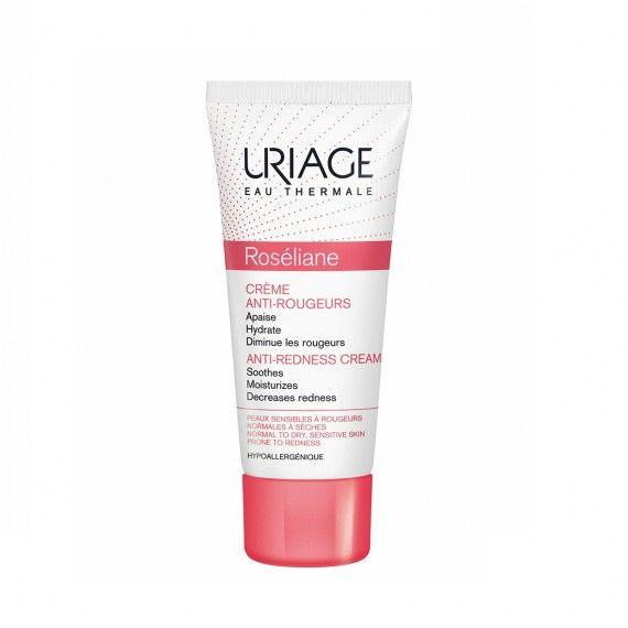 Uriage Eau Thermale Roséliane Creme Facial Anti-Vermelhidão para Peles Normais a Secas