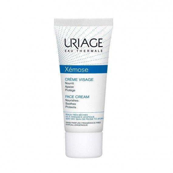Uriage Eau Thermale Xémose Creme Facial Nutritivo para Peles Muito Secas