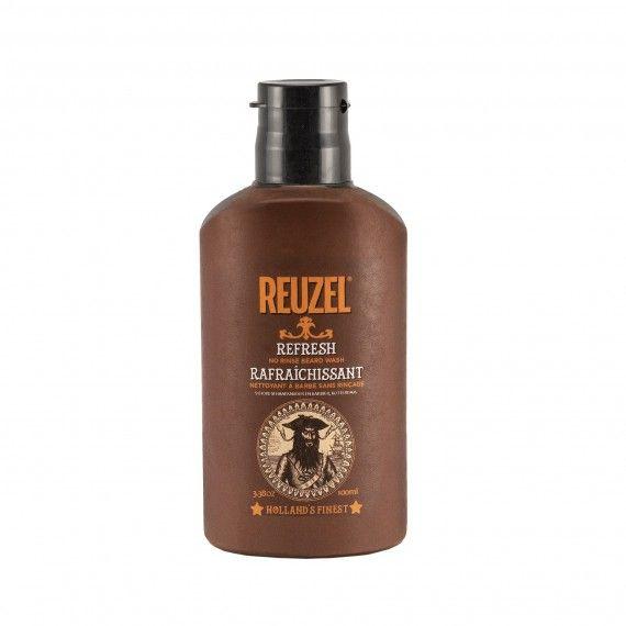 Reuzel Refresh Creme de Limpeza para a Barba (Sem Enxaguar)