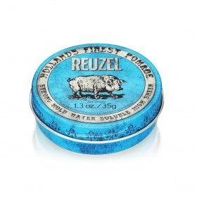 Reuzel Blue Pomade - Pomada Capilar com Fixação Forte e Brilho Intenso