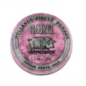 Reuzel Pink Pomade Brilhantina com Fixação Extra Forte e Brilho Médio