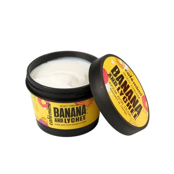 Café Mimi Creme de Corpo de Banana e Lychee