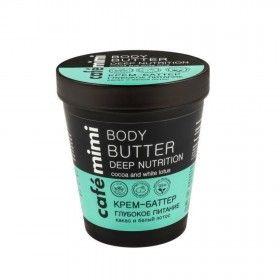 Café Mimi Manteiga Corporal para Nutrição Profunda