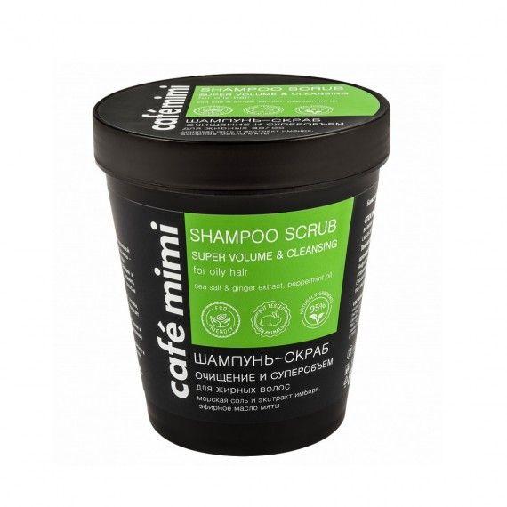 Café Mimi Shampoo Esfoliante para Super Volume e Limpeza