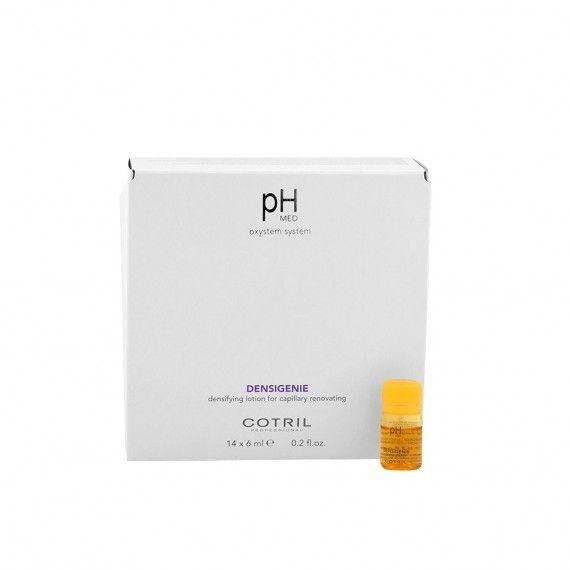 Cotril pH MED Densigenie Ampolas de Densificação e Fortalecimento Capilar 14x6ml