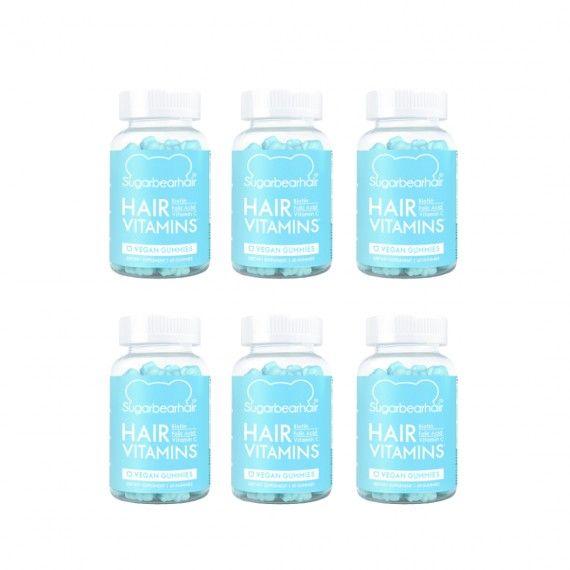Pack Sugar Bear Hair Suplemento Vitamínico para Cabelo 6 Meses