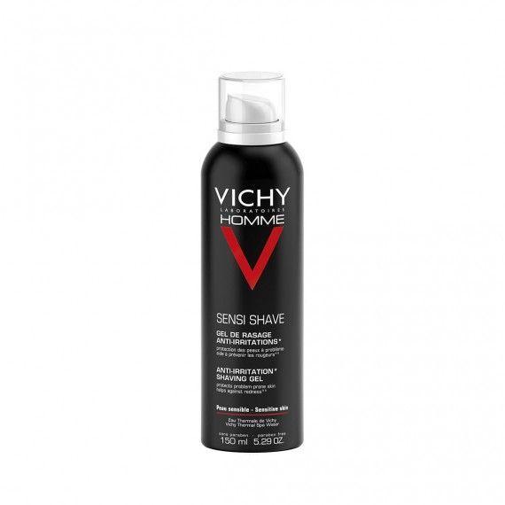 Vichy Homme Sensi Shave Gel de Barbear Anti-Irritação