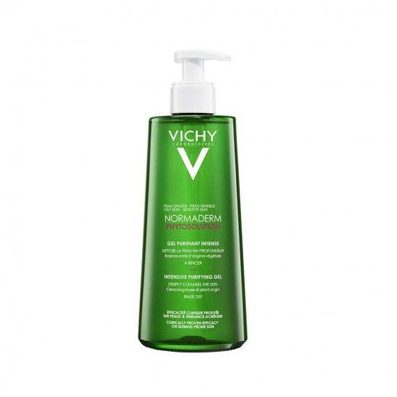 Vichy Normaderm Phytosolution Gel de Limpeza Purificante para Peles Oleosas com Tendência Acneica