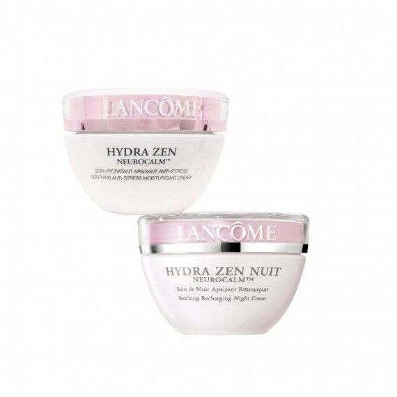 Lancôme Hydra Zen Anti-Stress Creme de Dia 50ml + Creme de Noite 50ml