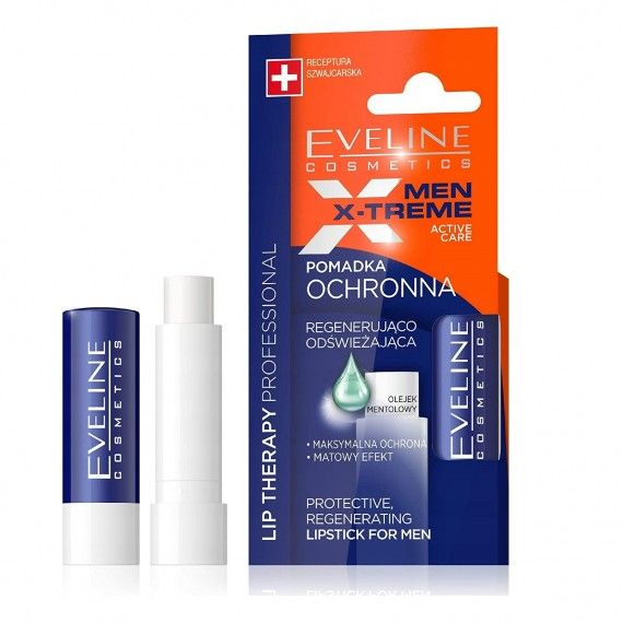 Eveline Cosmetics Lip Therapy Protective Regenerating Lipstick for Men