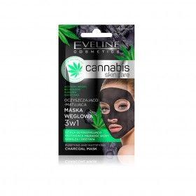 Eveline Cosmetics Cannabis Skin Care 3IN1 Mask