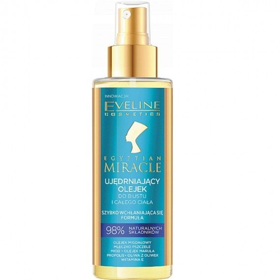 Eveline Cosmetics Egyptian Miracle Intensely Firming Bust & Body Oil