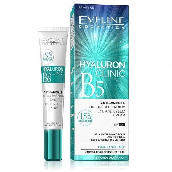 Eveline Cosmetics Hyaluronic Clinic Eye Cream