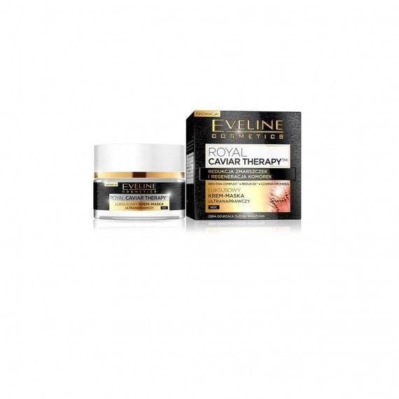 Eveline Cosmetics Royal Caviar Therapy Night Cream Mask