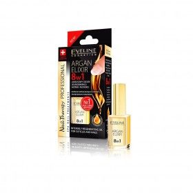 Eveline Cosmetics Nail Therapy 8 In 1 Argan Elixir