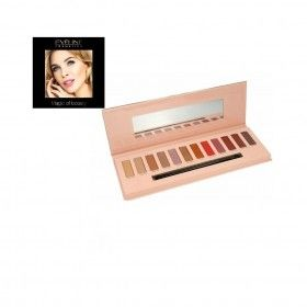 Eveline Cosmetics Eyeshadow Palette 12 Cores